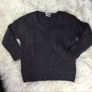 Wallace by madewell Wool mohair v-neck sweater